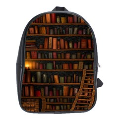 Books Library School Bags (xl)