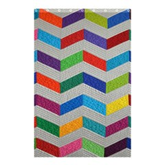 Charming Chevrons Quilt Shower Curtain 48  X 72  (small)