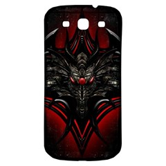 Black Dragon Grunge Samsung Galaxy S3 S Iii Classic Hardshell Back Case by BangZart