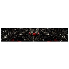 Black Dragon Grunge Flano Scarf (small)