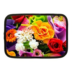 Colorful Flowers Netbook Case (medium)  by BangZart