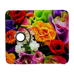 Colorful Flowers Galaxy S3 (flip/folio) by BangZart