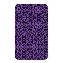 Triangle Knot Purple And Black Fabric Memory Card Reader