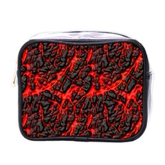 Volcanic Textures  Mini Toiletries Bags
