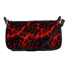 Volcanic Textures  Shoulder Clutch Bags by BangZart