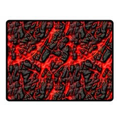 Volcanic Textures  Fleece Blanket (small) by BangZart