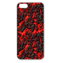 Volcanic Textures  Apple Seamless Iphone 5 Case (clear) by BangZart