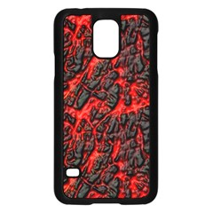 Volcanic Textures  Samsung Galaxy S5 Case (black) by BangZart
