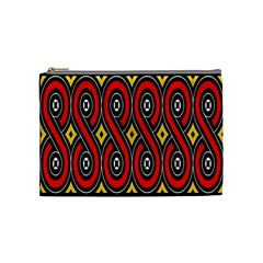 Toraja Traditional Art Pattern Cosmetic Bag (medium)  by BangZart