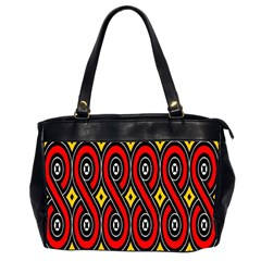 Toraja Traditional Art Pattern Office Handbags (2 Sides)  by BangZart