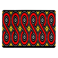 Toraja Traditional Art Pattern Samsung Galaxy Tab 10 1  P7500 Flip Case