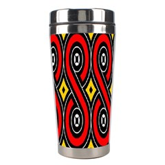 Toraja Traditional Art Pattern Stainless Steel Travel Tumblers by BangZart