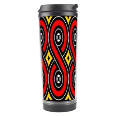 Toraja Traditional Art Pattern Travel Tumbler by BangZart