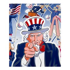Independence Day United States Of America Shower Curtain 60  X 72  (medium)  by BangZart