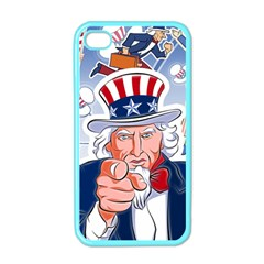 Independence Day United States Of America Apple Iphone 4 Case (color)