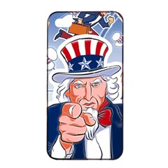 Independence Day United States Of America Apple Iphone 4/4s Seamless Case (black)