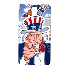 Independence Day United States Of America Samsung Galaxy Note 3 N9005 Hardshell Back Case by BangZart