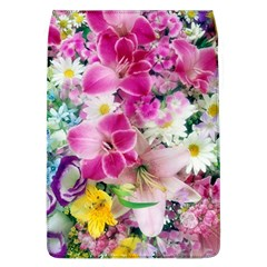 Colorful Flowers Patterns Flap Covers (l)