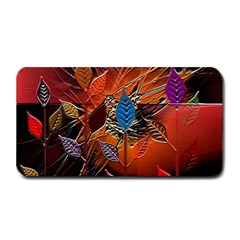 Colorful Leaves Medium Bar Mats by BangZart
