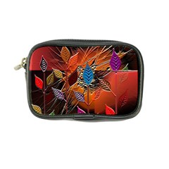 Colorful Leaves Coin Purse