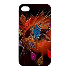 Colorful Leaves Apple Iphone 4/4s Hardshell Case