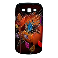 Colorful Leaves Samsung Galaxy S Iii Classic Hardshell Case (pc+silicone)