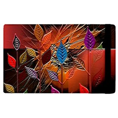 Colorful Leaves Apple Ipad Pro 12 9   Flip Case