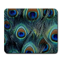 Feathers Art Peacock Sheets Patterns Large Mousepads