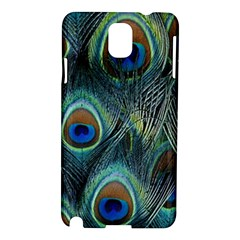 Feathers Art Peacock Sheets Patterns Samsung Galaxy Note 3 N9005 Hardshell Case by BangZart