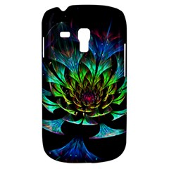 Fractal Flowers Abstract Petals Glitter Lights Art 3d Galaxy S3 Mini