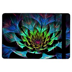Fractal Flowers Abstract Petals Glitter Lights Art 3d Ipad Air Flip by BangZart