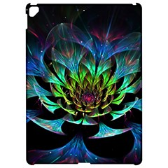 Fractal Flowers Abstract Petals Glitter Lights Art 3d Apple Ipad Pro 12 9   Hardshell Case by BangZart