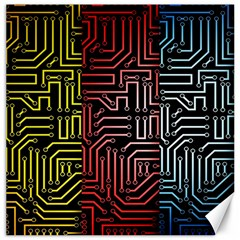 Circuit Board Seamless Patterns Set Canvas 12  X 12   by BangZart