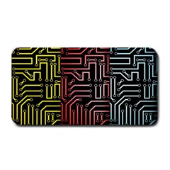 Circuit Board Seamless Patterns Set Medium Bar Mats