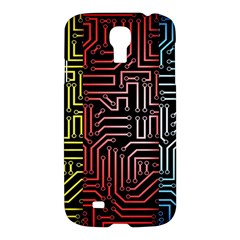 Circuit Board Seamless Patterns Set Samsung Galaxy S4 I9500/i9505 Hardshell Case