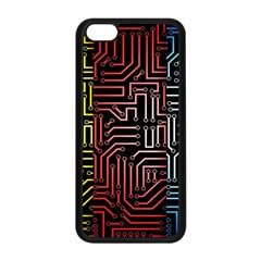 Circuit Board Seamless Patterns Set Apple Iphone 5c Seamless Case (black) by BangZart