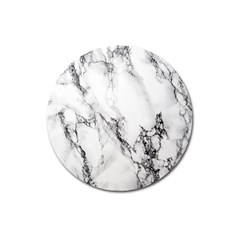 Marble Pattern Magnet 3  (round)