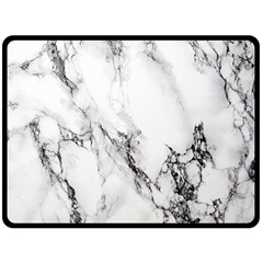 Marble Pattern Double Sided Fleece Blanket (large)