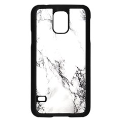 Marble Pattern Samsung Galaxy S5 Case (black) by BangZart
