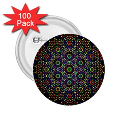 The Flower Of Life 2 25  Buttons (100 Pack)