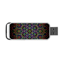 The Flower Of Life Portable Usb Flash (two Sides)