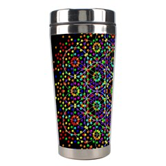 The Flower Of Life Stainless Steel Travel Tumblers by BangZart