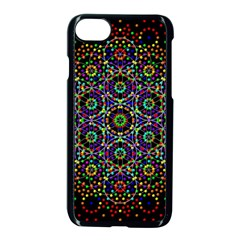 The Flower Of Life Apple Iphone 7 Seamless Case (black) by BangZart