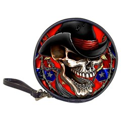 Confederate Flag Usa America United States Csa Civil War Rebel Dixie Military Poster Skull Classic 20 Cd Wallets