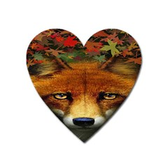 Fox Heart Magnet