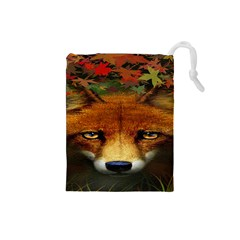 Fox Drawstring Pouches (small)
