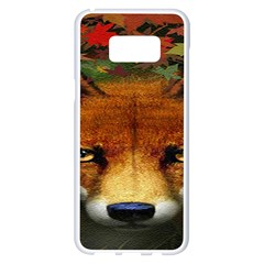 Fox Samsung Galaxy S8 Plus White Seamless Case by BangZart