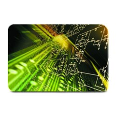 Electronics Machine Technology Circuit Electronic Computer Technics Detail Psychedelic Abstract Patt Plate Mats by BangZart
