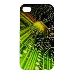 Electronics Machine Technology Circuit Electronic Computer Technics Detail Psychedelic Abstract Patt Apple Iphone 4/4s Hardshell Case