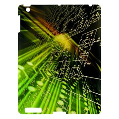 Electronics Machine Technology Circuit Electronic Computer Technics Detail Psychedelic Abstract Patt Apple Ipad 3/4 Hardshell Case by BangZart